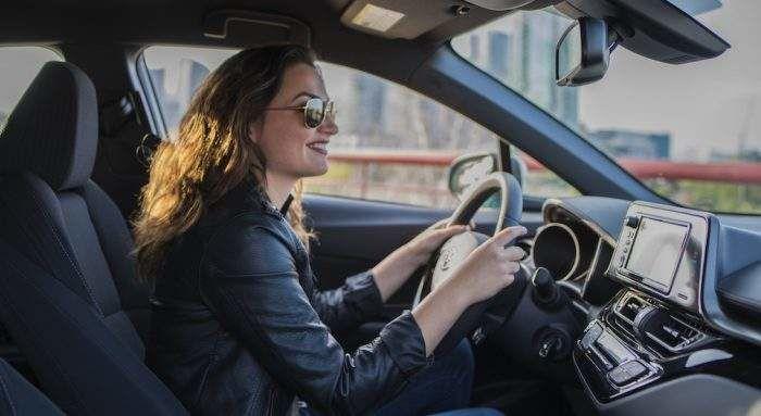 Toyota C-HR Interior - Drivers Seat
