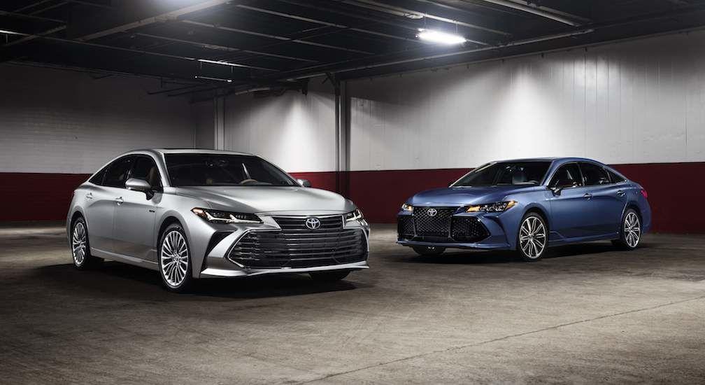2019 Toyota Avalon Group