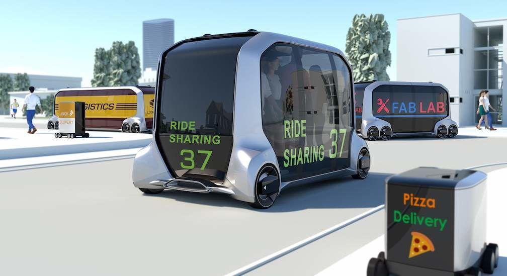 Toyota e-Pallete Concept Vehicle