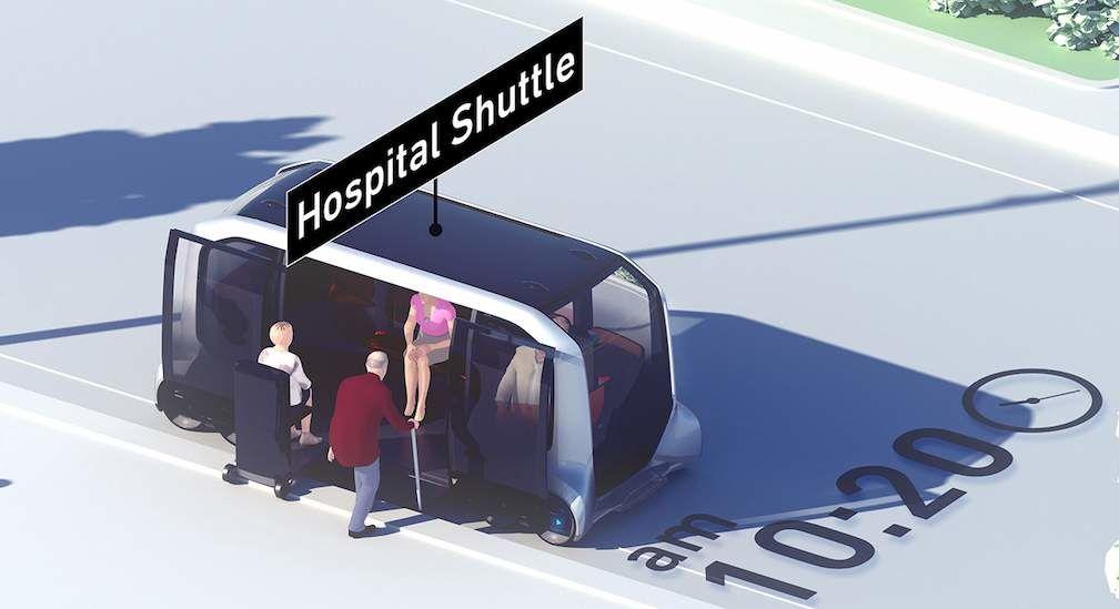 e-Palette Hospital Shuttle