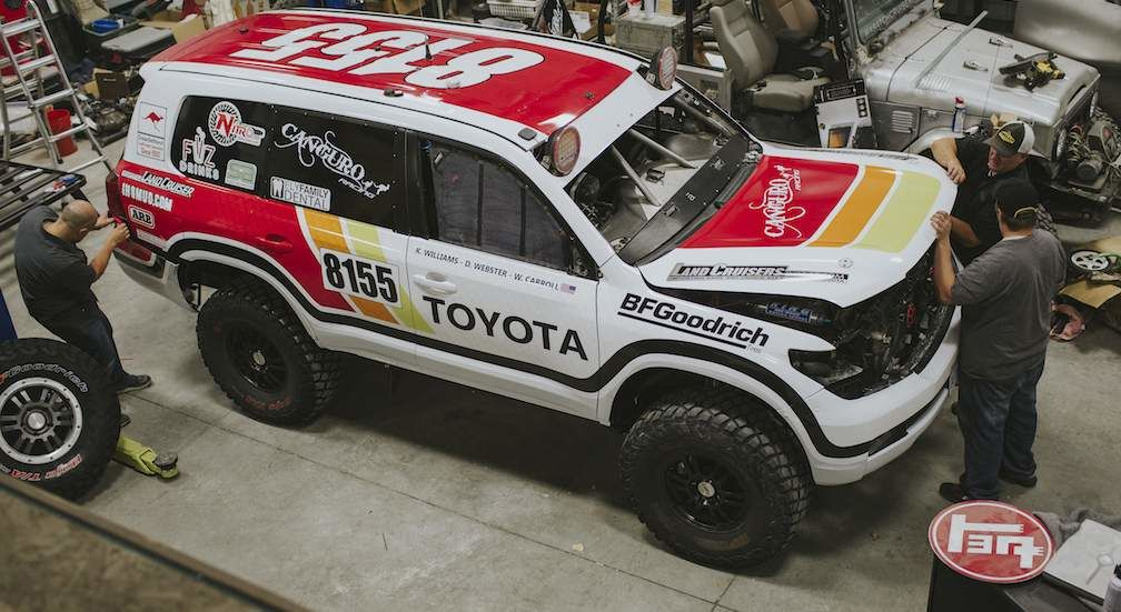 Baja 100 Canguro Racing Team Truck