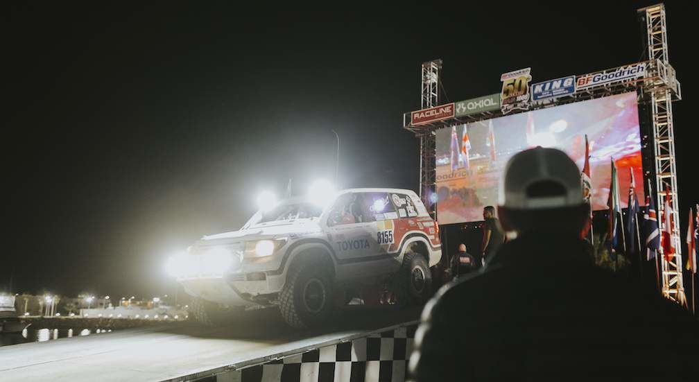 Canguro Racing Toyota on Ramp