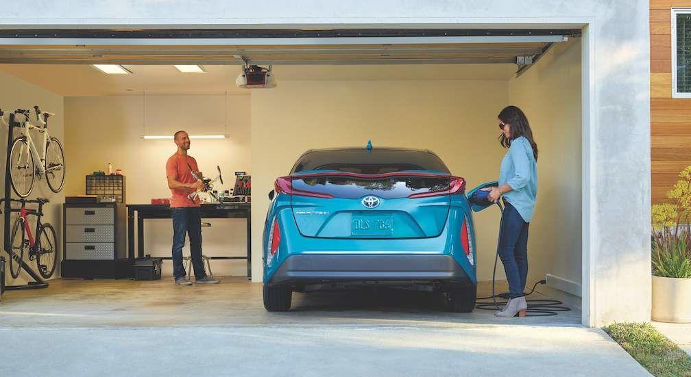 Charging Prius Prime
