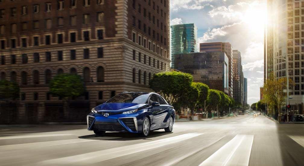 Hydrogen Fuel Cell Car Toyota Mirai