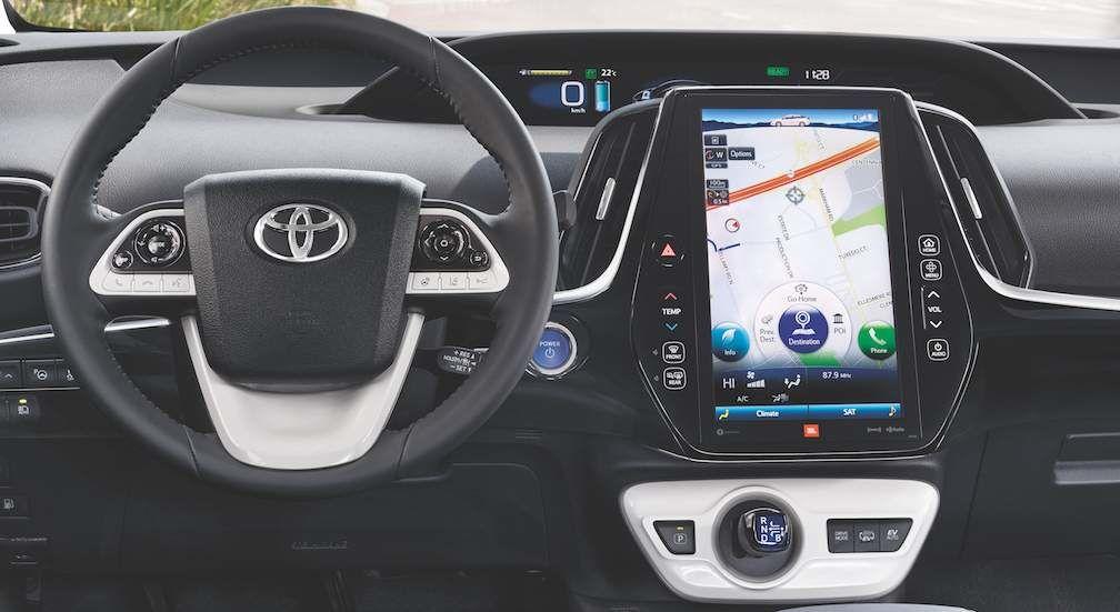 Prius Prime Interior