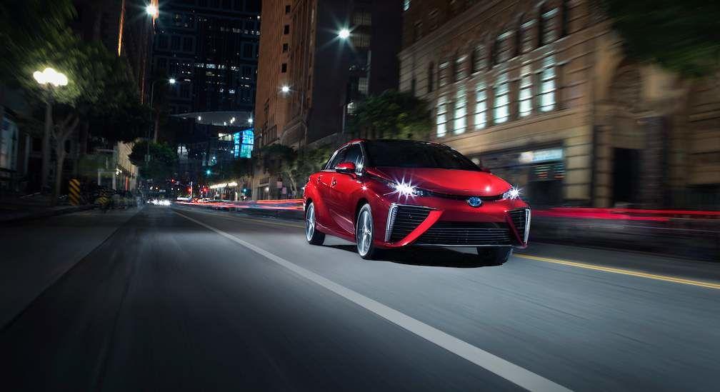 Toyota Mirai Hydrogen Fuel Call Vehicle