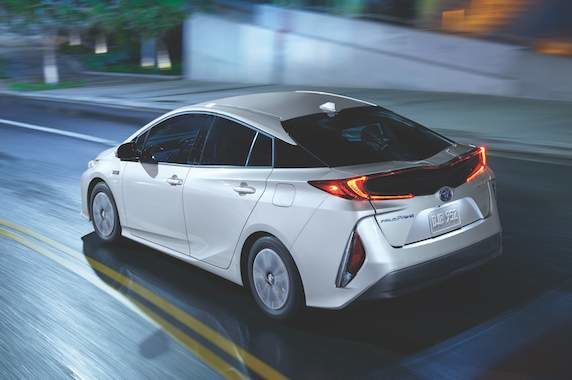 Meet Toyota's plug-in hybrid, the Prius Prime