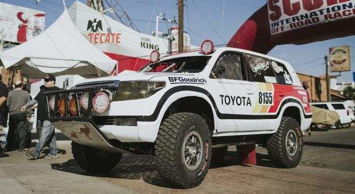 Toyota Racing Baja 100