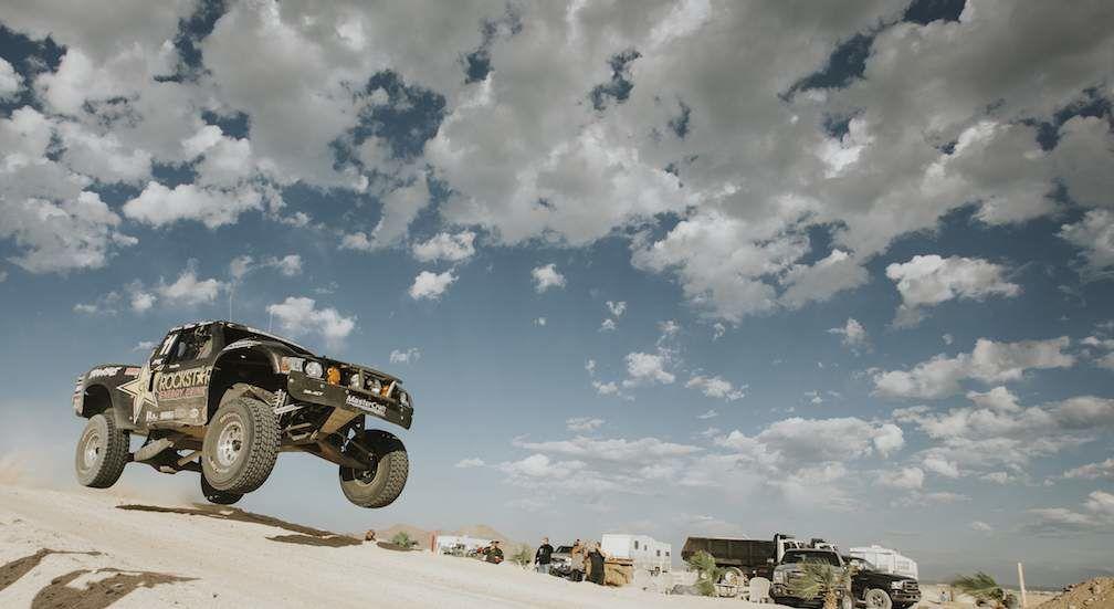 Truck Racing in Baja 1000