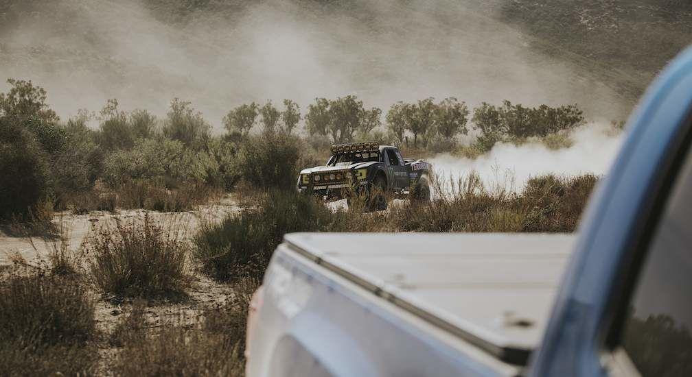 Truck Racing in Desert Baja 1000