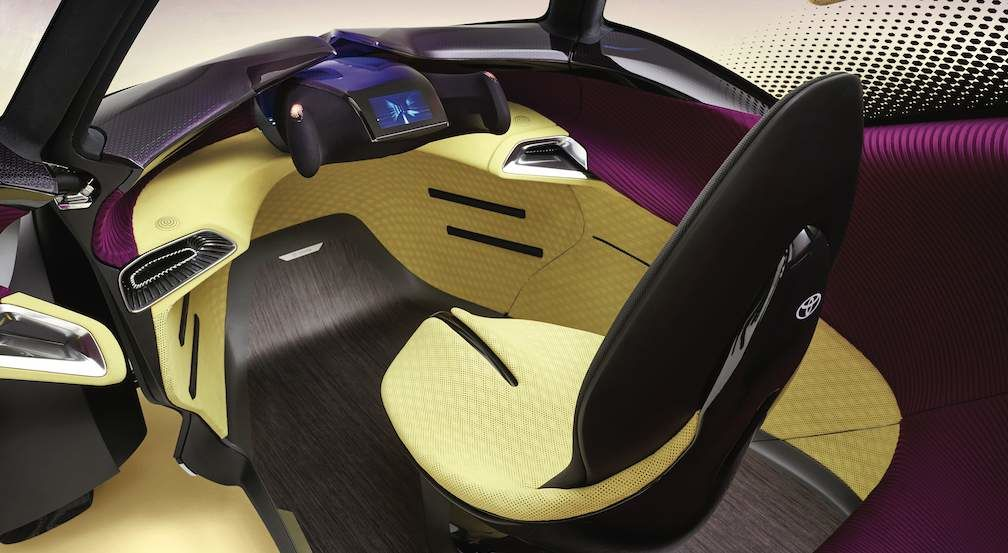 i-TRIL Concept Drivers Seat