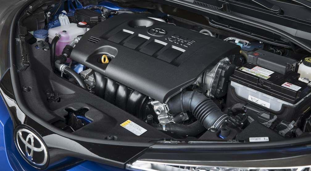 Toyota C-HR Valvematic Engine
