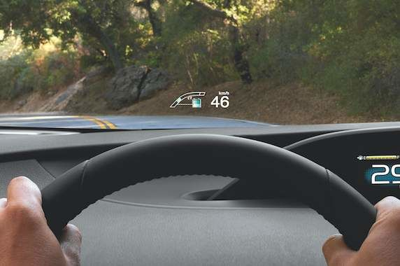 How a Head-Up Display keeps your eyes on the road