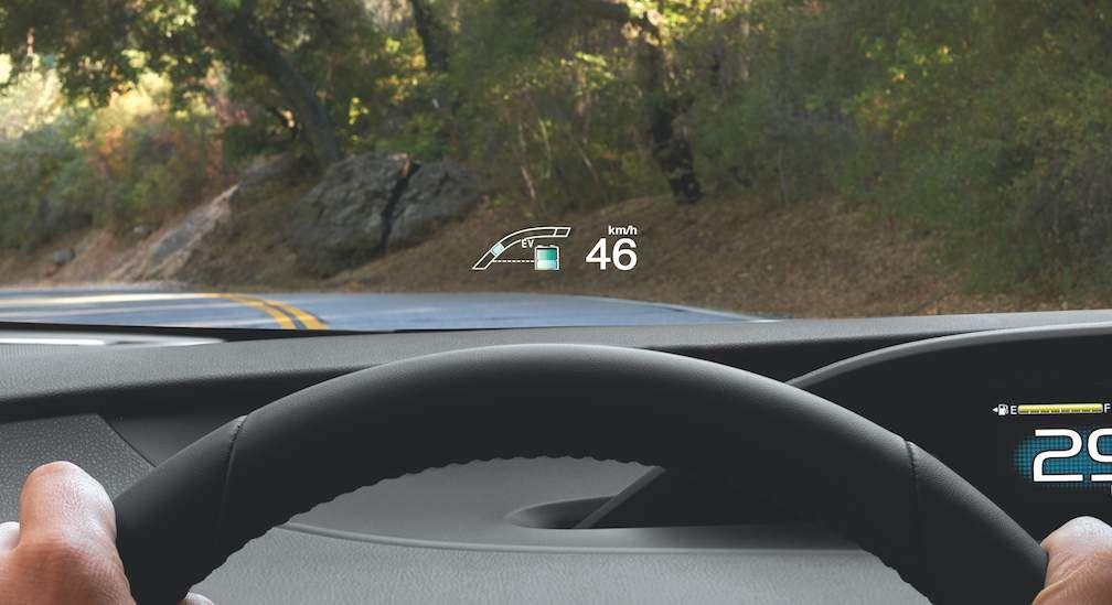 Head Up Display on Prius Prime