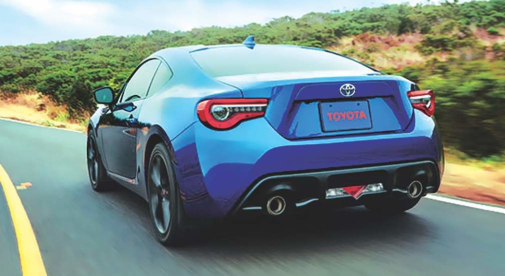 Toyota 86 in Oceanic
