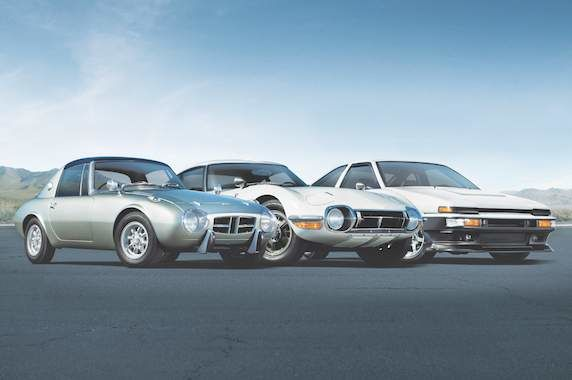 Toyota Sports Cars, Toyota Sports 800, Toyota 2000GT, AE86