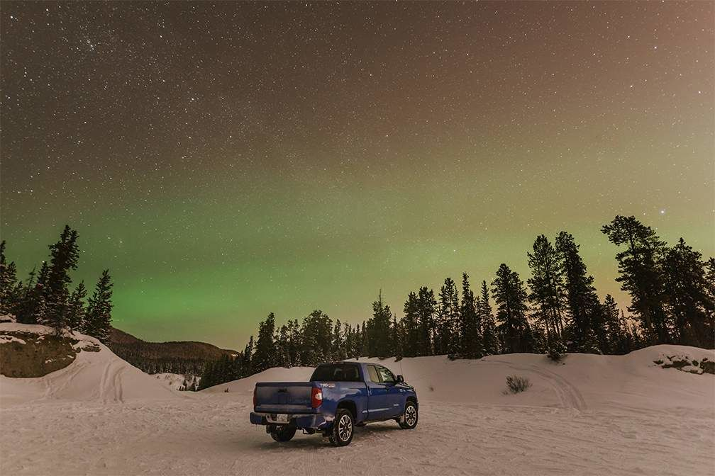 Chasing the Northern Lights with Desk To Glory