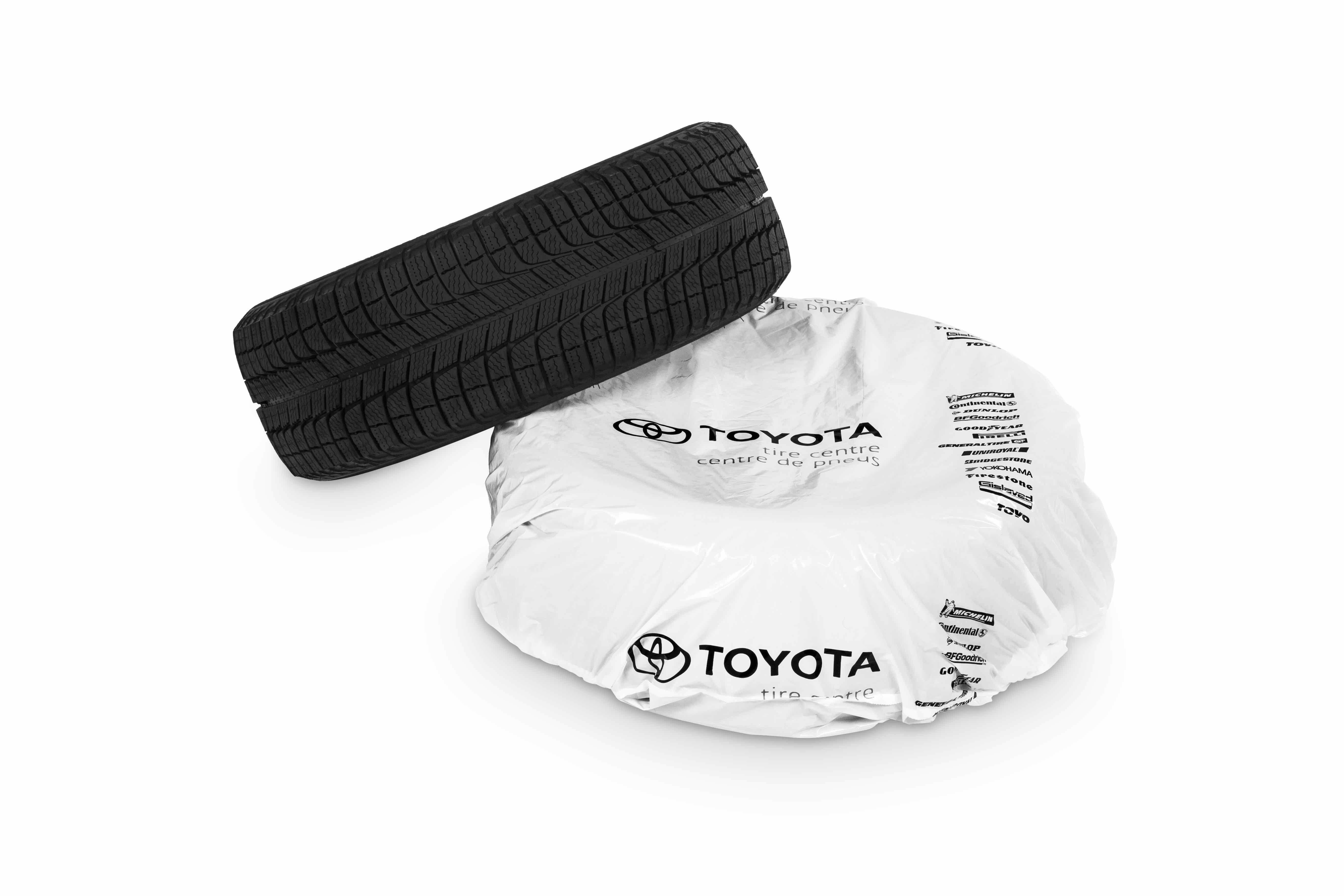 Genuine Toyota Tires in Packaging
