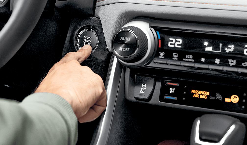 2019 Toyota RAV4 Engine Start Stop Button
