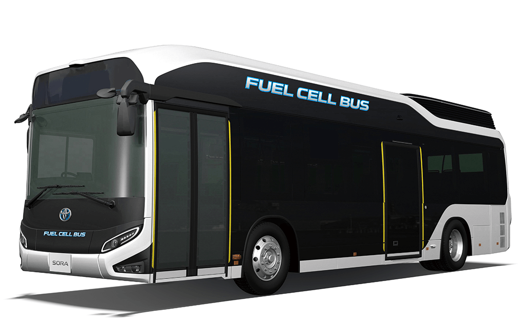 The Hydrogen Fuel Cell Electric Bus That Produces Zero CO2 Emissions