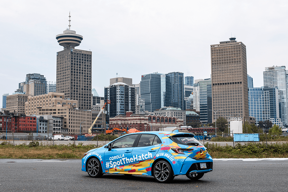 #SpotTheHatch: Find, Drive and Possibly Win an All-New 2019 Corolla Hatchback!