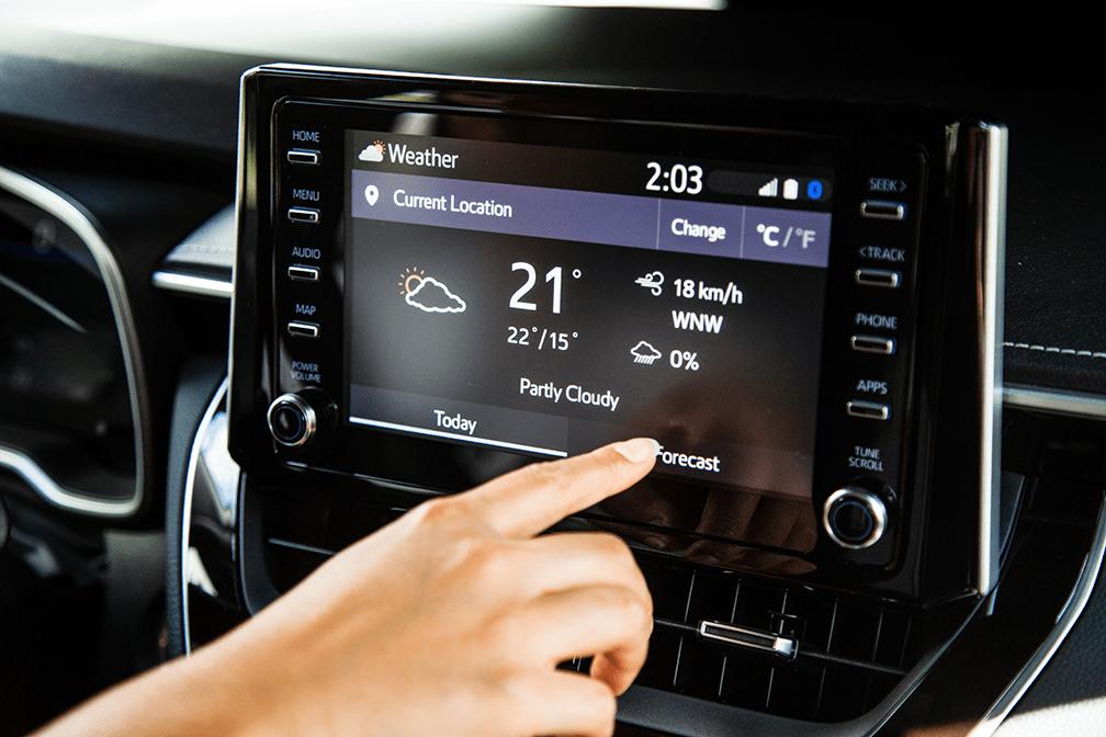 2019 Toyota Corolla Hatchback featuring EnTune 3.0.