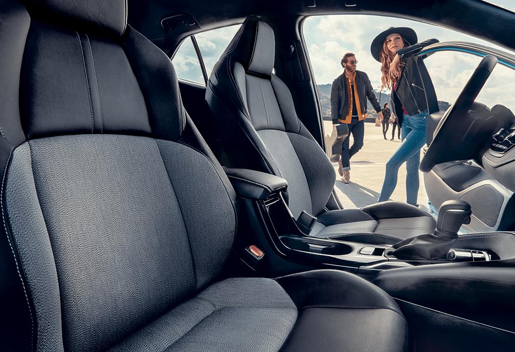 2019 Corolla Hatchback Front Interior