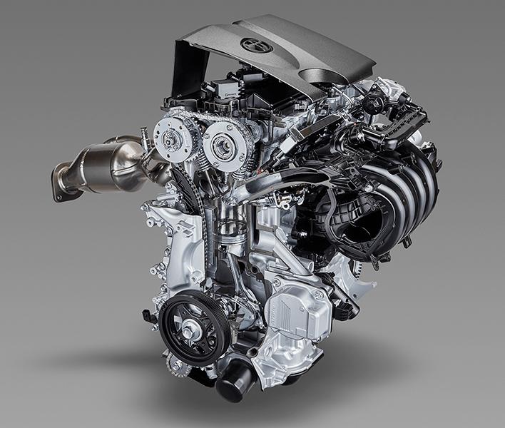 Inline 4 cylinder 2.0L direct injection gasoline engine