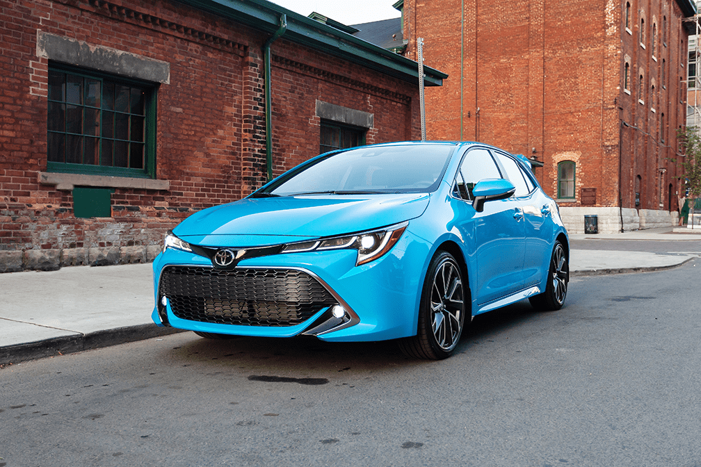 The all-new 2019 Toyota Corolla Hatchback