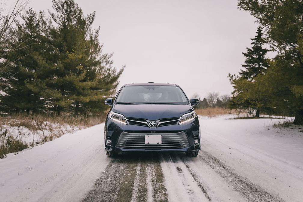 Winter driving with Toyota Canada
