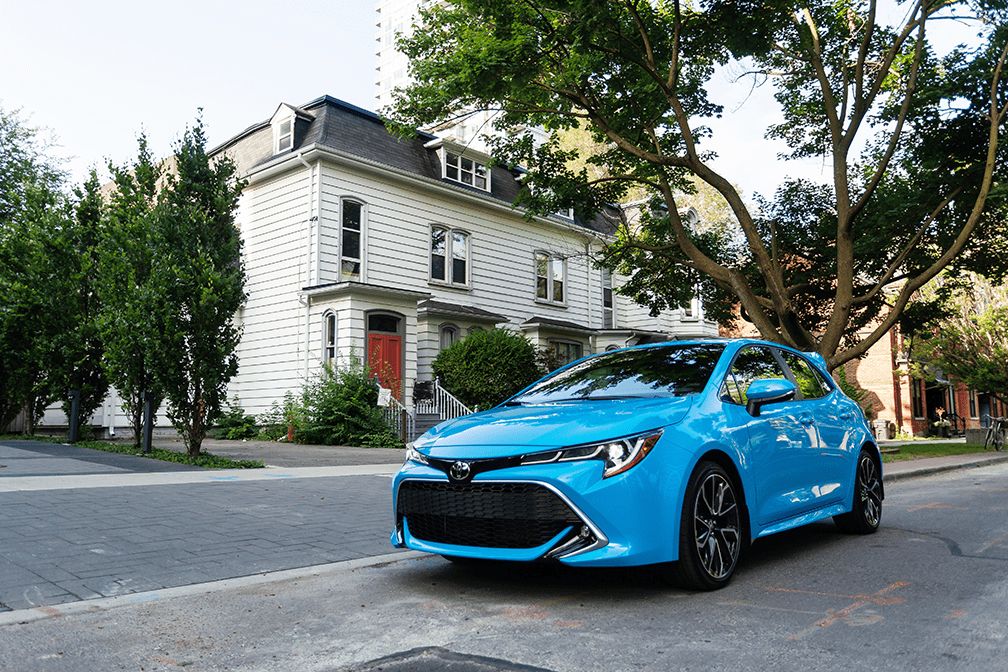 Discover the Latest Toyota Safety Technologies in the All-New Corolla Hatchback