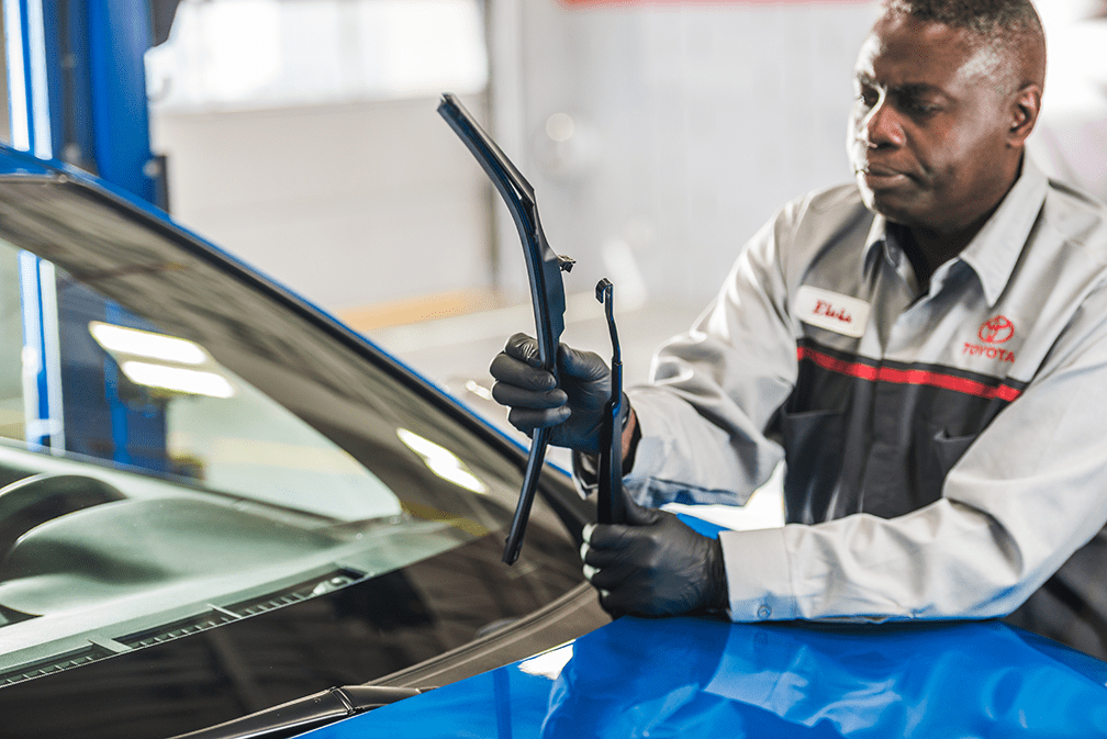 Replacing Windshields with Toyota Genuine Parts