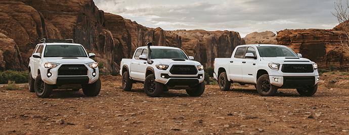 L'événement « En route vers le sommet » de Toyota TRD Pro