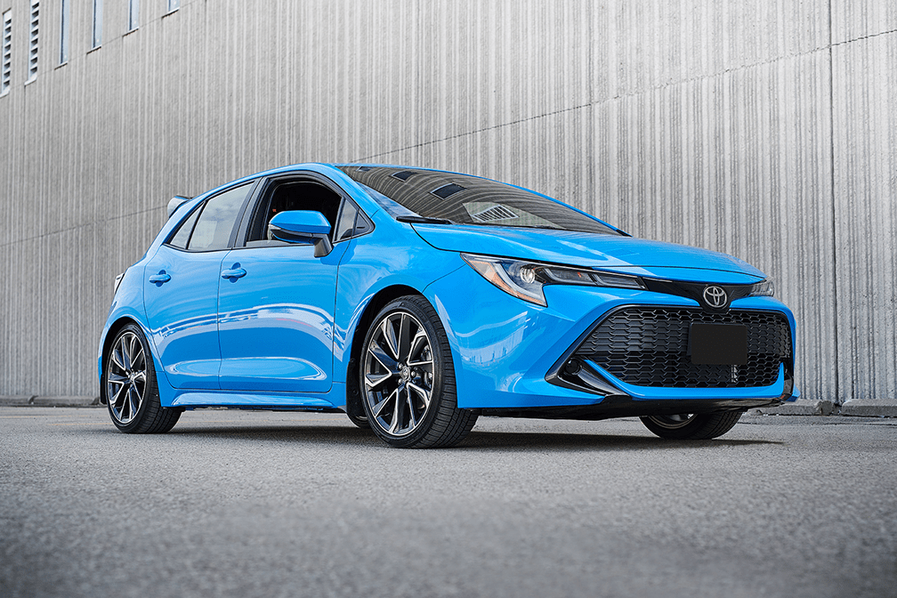 Corolla Hatchback Sticks with the Stick Shift