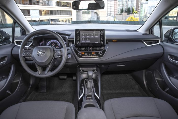 2021 Toyota Corolla Sedan Interior