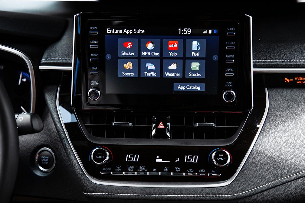 2019 Toyota Corolla Hatchback 8-inch Display Touchscreen