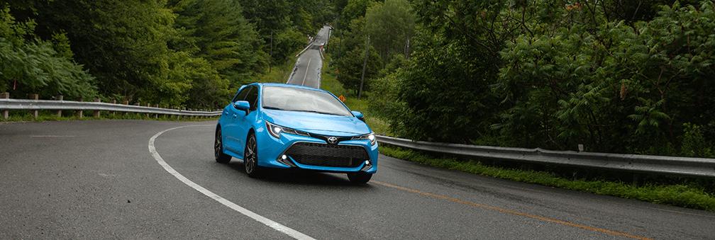2019 Toyota Corolla Hatchback in Blue Flame