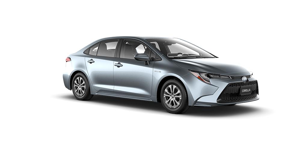 2020 Toyota Corolla Hybrid in Celestite Gray Metallic