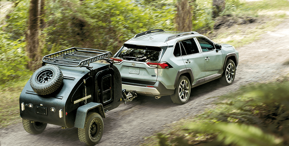 The all-new 2019 Toyota RAV4 Trail Towing