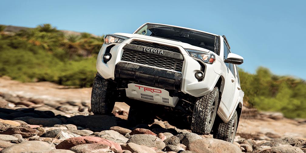 2019 Toyota 4Runner TRD Shown in Super White