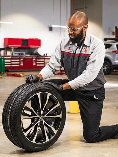 Toyota Tire Design
