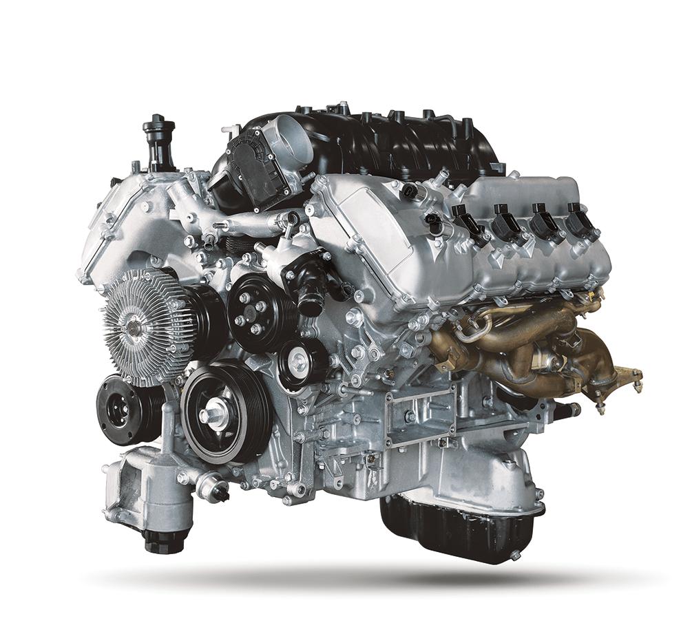 Toyota 6 cylinder V8 Engine