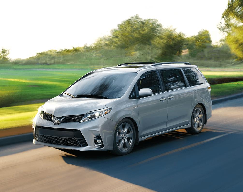 2020 Toyota Sienna in Celestial Silver Metallic