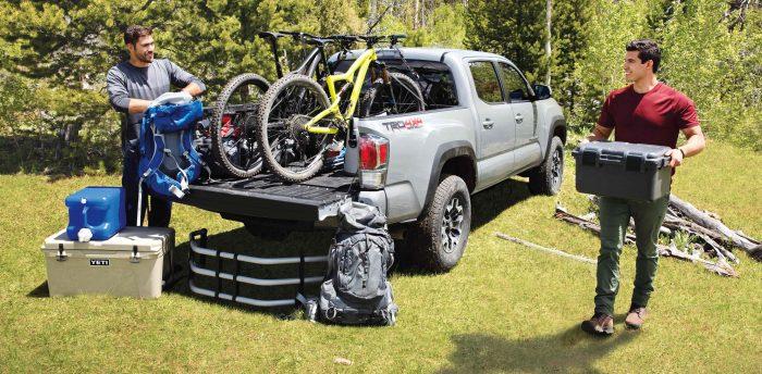 2021 Toyota Tacoma Rear Storage
