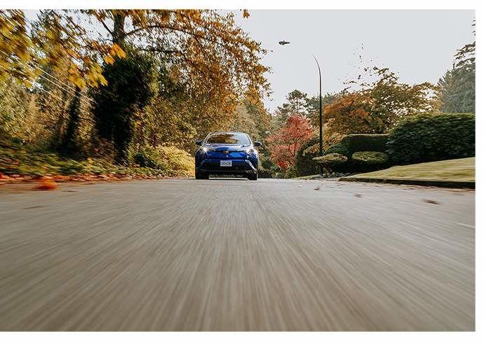 Fall drive Toyota