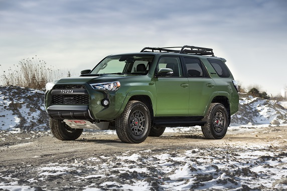 2020 Toyota 4Runner TRD with available Toyota Heating System