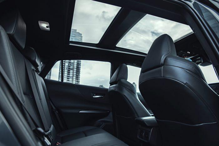 2021 Toyota Venza Rear Seats Sunroof