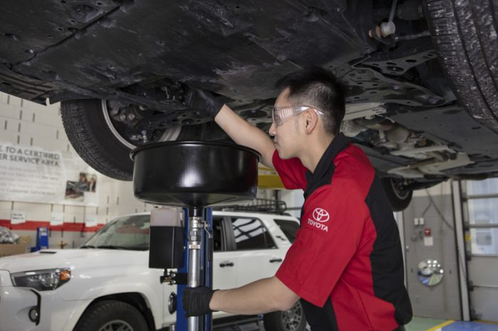 Toyota oil change
