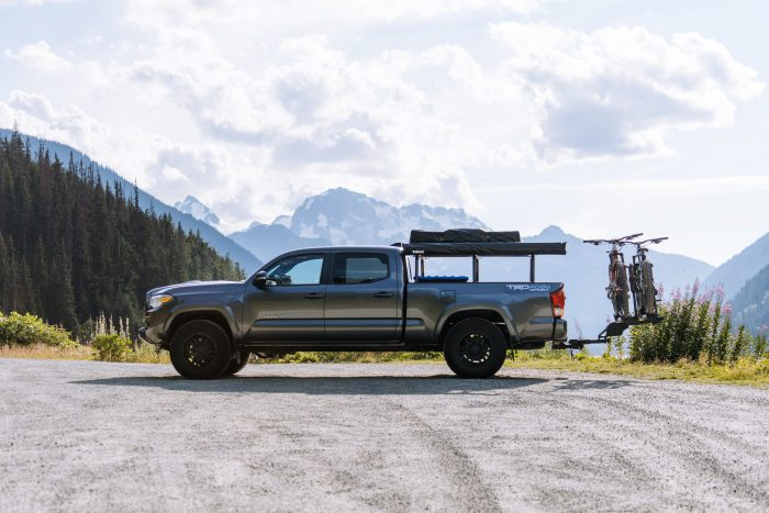 Toyota Tacoma Bike carrier attachment