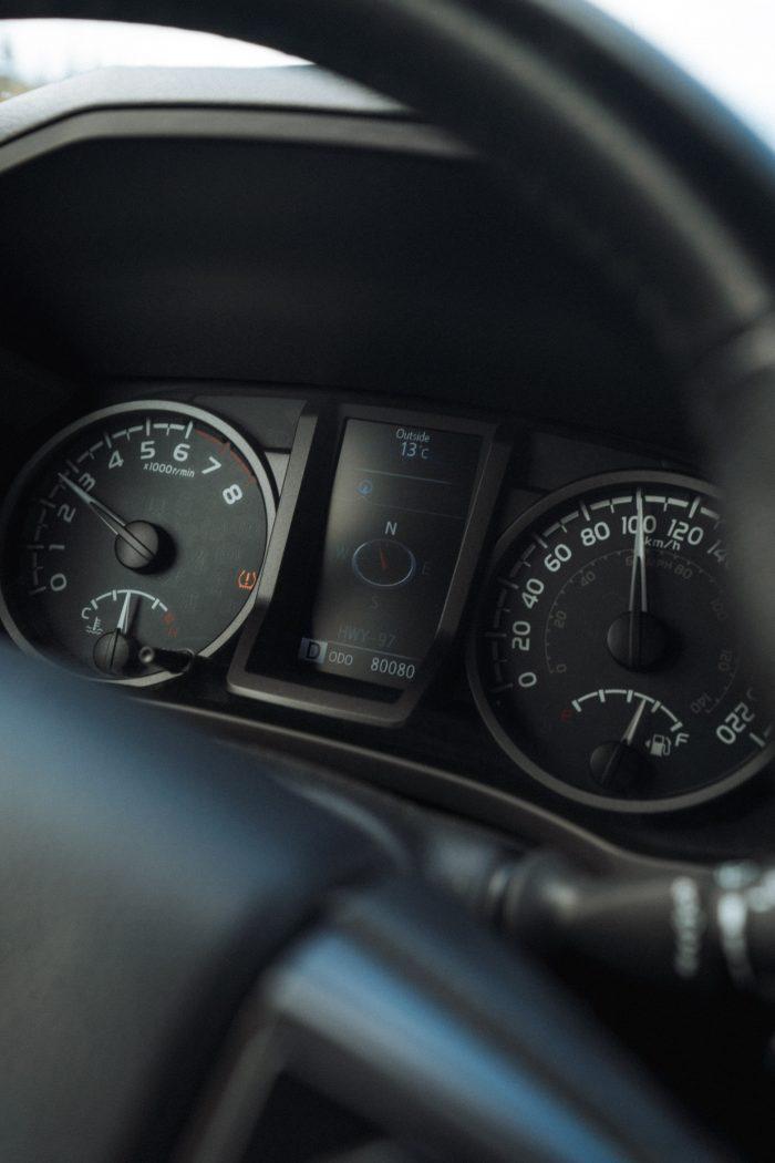 Toyota Tacoma Interior